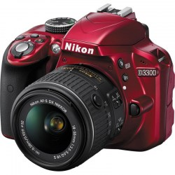 nikon-d3300-242-mp-dslr-camera-red-with-18-55mm-lens-kit